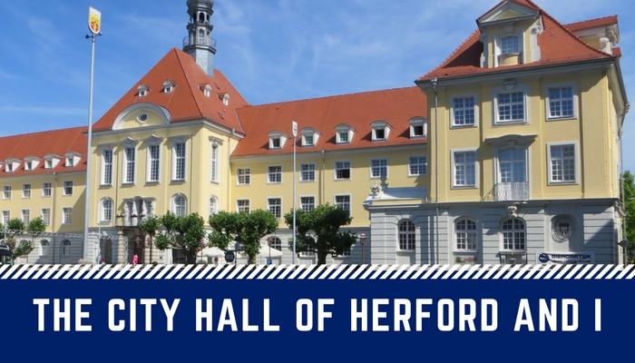 Das Herforder Rathaus und Ich(5)