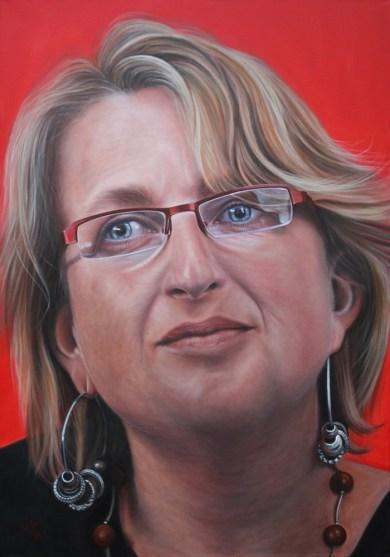 Ölporträt Anke