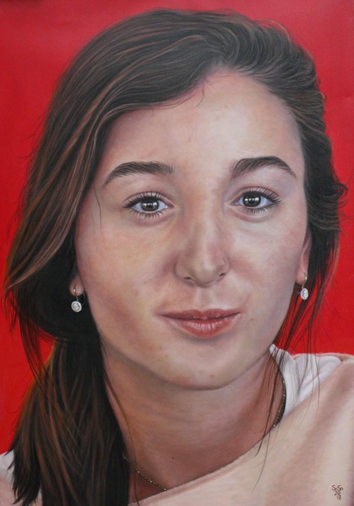 Ölporträt Mia